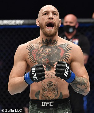 McGregor se está preparando para un combate de trilogía con Dustin Poirier en UFC 264 en Las Vegas el 10 de julio.