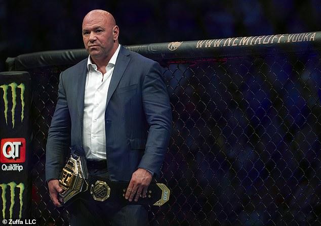 Antes de la batalla de la ex estrella de UFC con Jack Paul, Dana White había apuntado a Tyronn Woodley