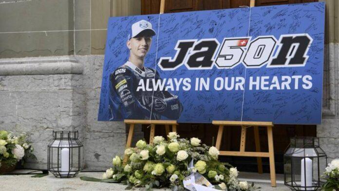 El último adiós a Dupasquier, el talento de Moto3 fallecido en Misano