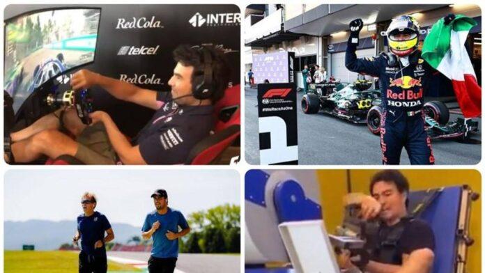 F1, Pérez, la estrella: aquí están los secretos de su entrenamiento