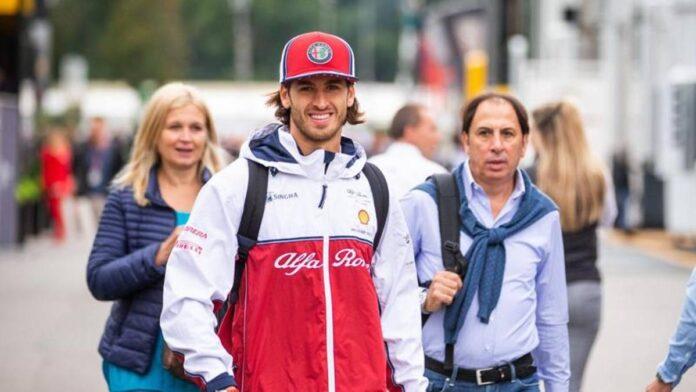 F1, el padre Giovinazzi le dice a su hijo Antonio: