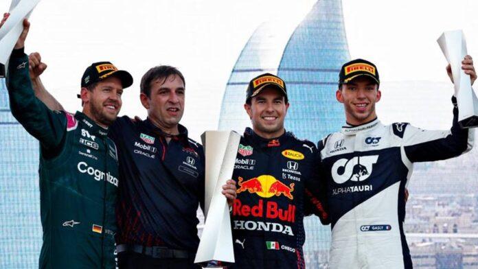 F.1, nueva arma de Pérez Red Bull, luces y sombras de Ferrari.  Y Vettel habrá sonreído ...