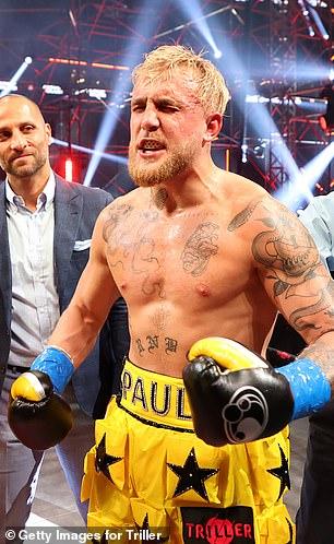 Paul anunció su próximo combate de boxeo