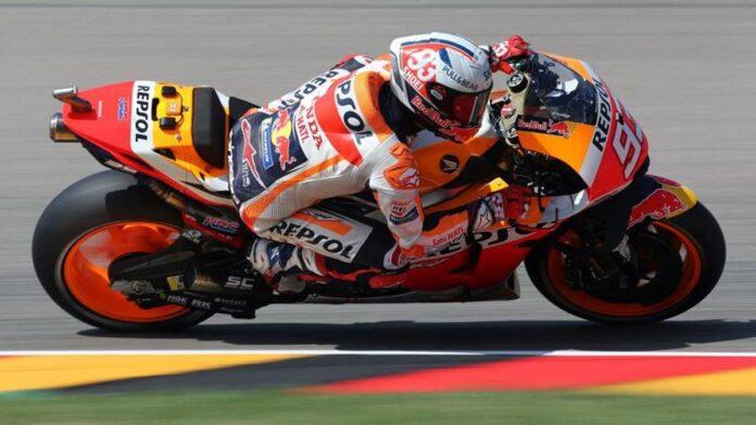 """Márquez: """"La clasificación está bien, pero es más por la pista que por la moto."""""""