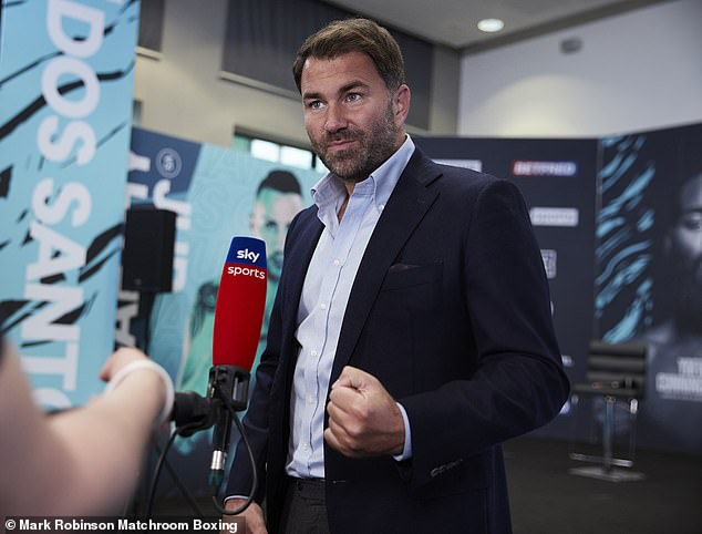 Eddie Hearn ha revelado que su Matchroom Sport pondrá fin a su asociación con Sky Sports