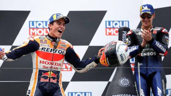Sachsenring, no solo aplausos a Márquez.  Las ideas del GP de Alemania