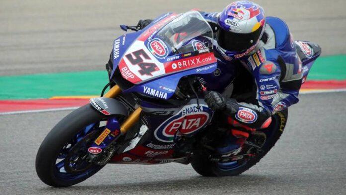 Sbk, Misano: Razgatlioglu, el más rápido en la FP1 por delante de la Ducati de Rinaldi
