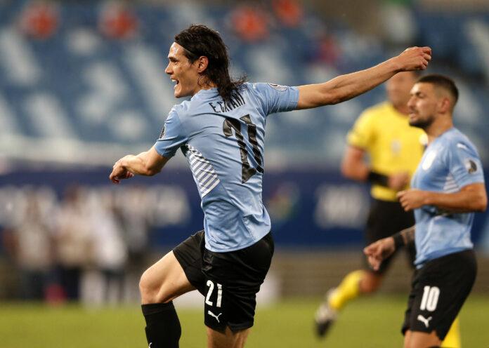 (Video) Edinson Cavani resuelve los problemas de anotación de Uruguay al tomar una ventaja de dos goles sobre Bolivia