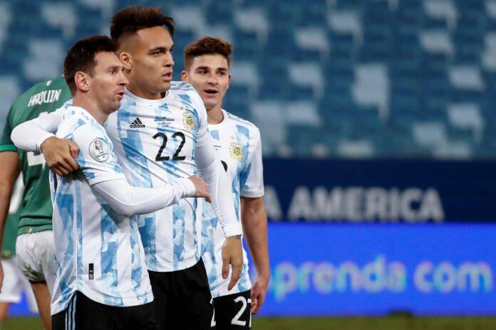 (Video) El delantero del Inter de Milán Lautaro Martínez habla sobre cómo finalmente marcar un gol para Argentina