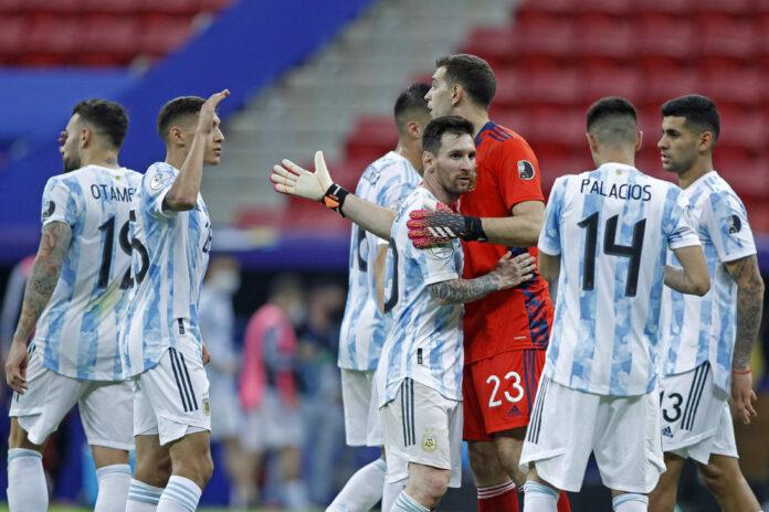 (Vídeo) El gol del Sevilla de Papu Gómez abre el marcador para Argentina ante Paraguay