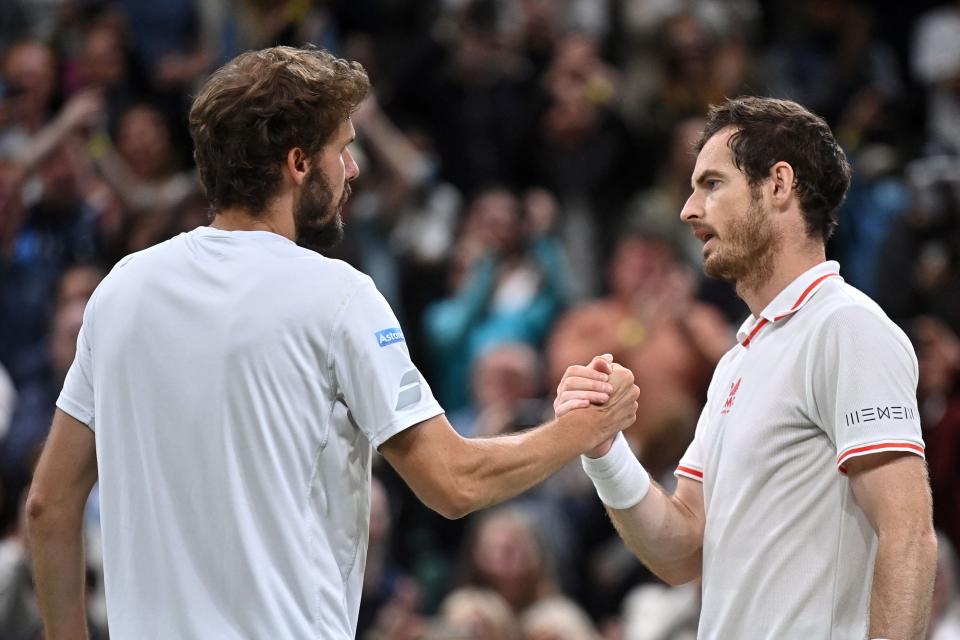Otte y Murray se fueron a cinco sets en su partido de segunda ronda.