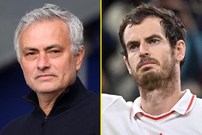 José Mourinho admite que es 'pésimo' en el tenis, pero le encantó el increíble regreso de Andy Murray a Wimbledon y hace una comparación con Wembley
