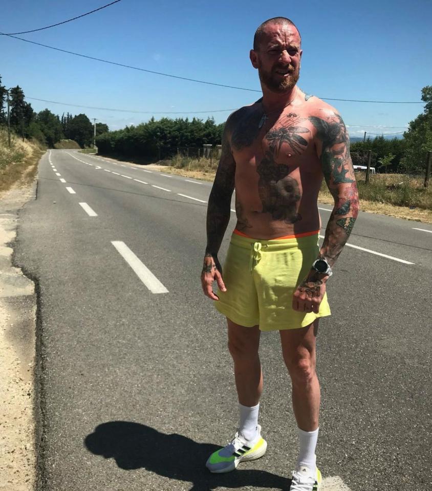 El icono del ciclismo se encuentra actualmente en Francia donde sigue entrenando intensamente en la jubilación