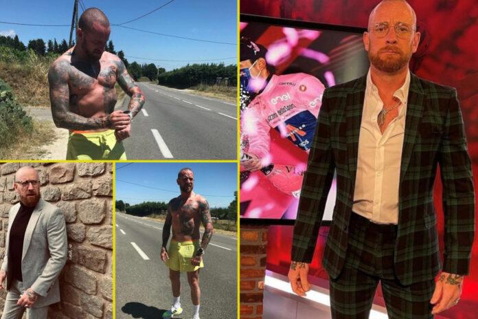 Sir Bradley Wiggins se ha convertido en la leyenda de UFC Conor McGregor como leyenda olímpica ahora desgarrada y en forma increíble a los 41