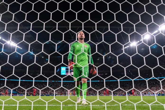 England have been charged by UEFA for the presence of a laser pointer and the booing of the Danish national anthem