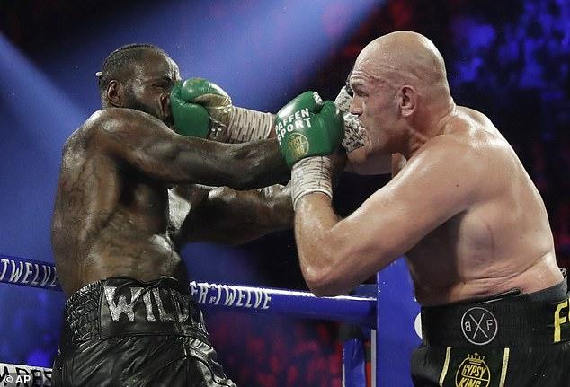 Fury golpeó a Wilder de pilar en poste cuando se reunieron por última vez en Las Vegas en febrero de 2020
