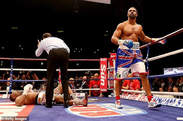 Haye ganó su pelea de rencor en Upton Park al noquear brutalmente a Chisora en el quinto asalto.