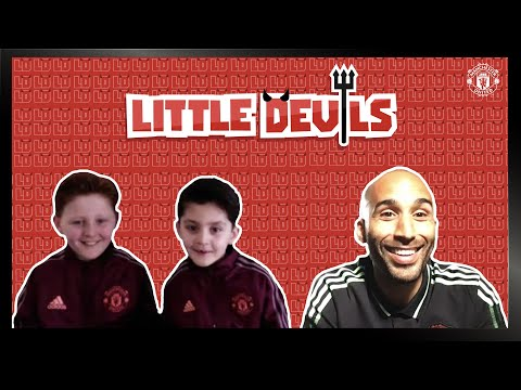 Lee Grant conoce a los diablillos |  Manchester United |  Episodio 2 |  SERIES NUEVAS