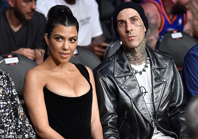 Amante de Las Vegas: Travis y Courtney revelaron su relación en enero y desde entonces se han vuelto casi inseparables de las demostraciones amorosas en las plataformas de redes sociales y públicas.