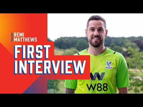 Primera entrevista de Remi Matthews como jugador de Crystal Palace 🦅