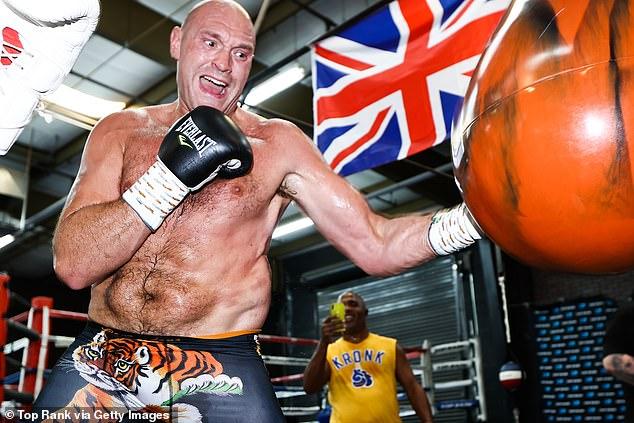 Se dice que Fury está 'realmente frustrado' por el aplazamiento de la tercera pelea de Wilder