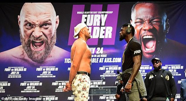 El concurso reorganizado entre Fury (izquierda) y Wilder (derecha) se fijó para el 9 de octubre.