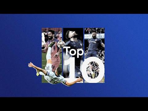 Gracias Olivier Giroud 💙 |  Los 10 mejores goles del Chelsea