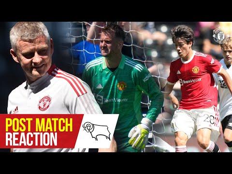 Heaton, Pellistri & Solskjaer satisfechos con la victoria de pretemporada en Derby    Derby 1-2 Manchester United