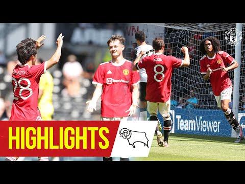 Chong y Pellistri dan la victoria a los Rojos en Derby    Destacados    Derby County 1-2 Manchester United