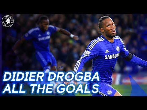 Cada gol de Didier Drogba Chelsea    Leyenda, Icono, Ganador