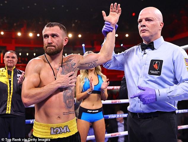 Vasyl Lomachenko cree que su compatriota es más rápido que AJ y tiene grandes posibilidades de ganar