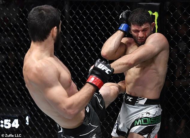 Mahachev siempre ha estado ansioso por ascender y luchar contra los mejores competidores.