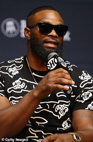 La estrella de MMA Woodley (en la foto) peleará contra Paul el próximo mes