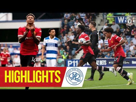 Destacados    QPR 4-2 Manchester United    Lingard y Elanga en el objetivo de los Rojos    Pretemporada 2021