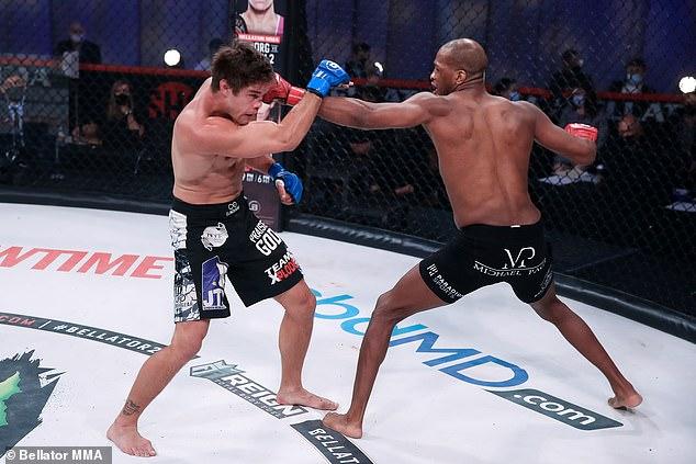 Page ganó sus últimos cinco juegos, incluida una brutal victoria por KO contra Derek Anderson