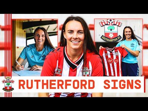 BIENVENIDO A RUTHERFORD |  Centrocampista femenino del Southampton FC
