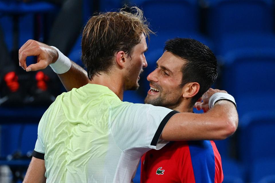 Djokovic se tomó la derrota como un campeón