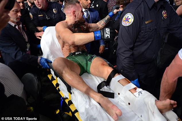 El irlandés será expulsado durante al menos un año para recuperarse de una pierna rota.