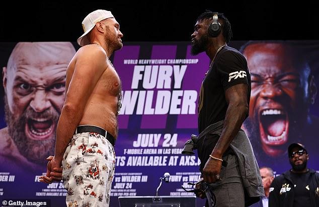 Según los informes, la pelea de Tyson Fury contra Deontay Wilder este mes se ha retrasado