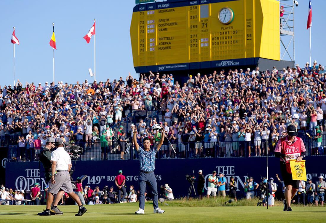 El Campeonato Abierto |  Puesto de golf global