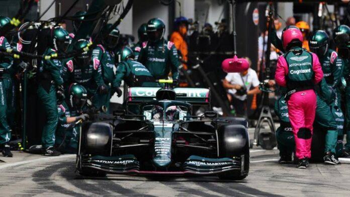 F1, Aston Martin y el trabajo de los mecánicos.  Los hombres detrás de Sebastian Vettel