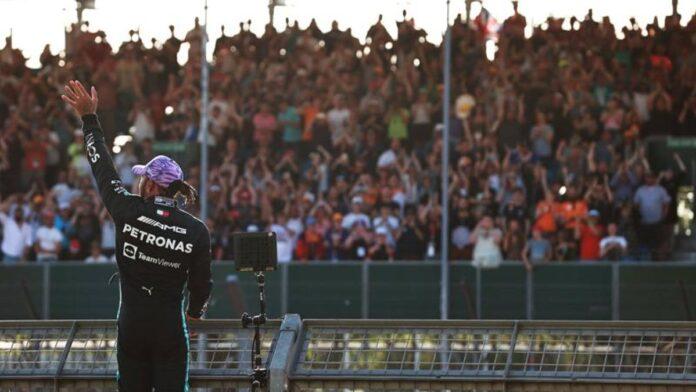 F1 Silverstone, Hamilton: