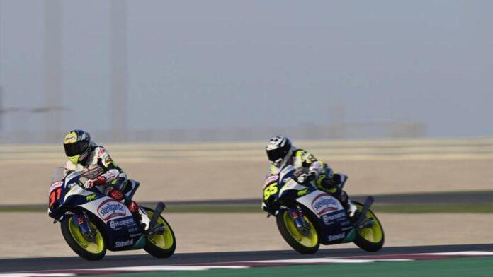 Moto 3, Fenati-Fernandez: Chispas en boxes y reñida lucha