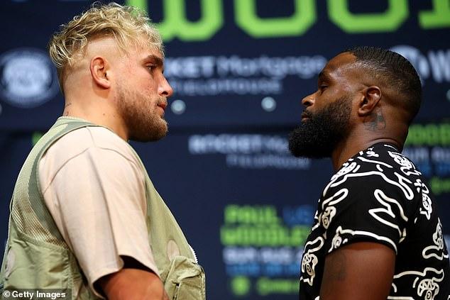Se anticipa que la estrella de YouTube Paul (izquierda) eventualmente podría enfrentarse a Tommy Fury en Estados Unidos.