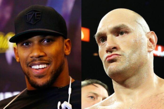 Tyson Fury contra Anthony Joshua apuntado para principios de 2022, dice Hearn