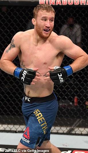 Justin Gask participó en UFC 254 por última vez