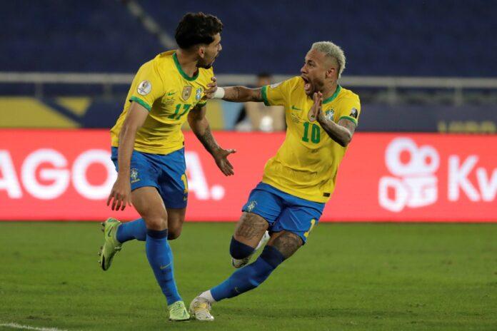 (Vídeo) El espectacular regate de Neymar lleva al gol de Lucas Paquetá ante Perú