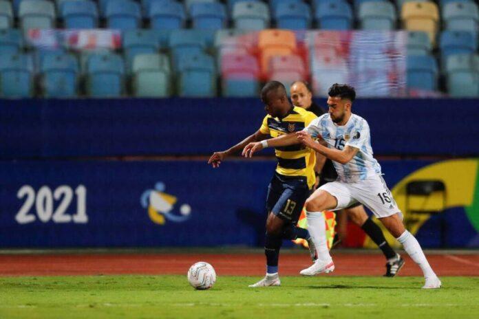 (Video) La ecuatoriana Enner Valencia gana la nominación al fracaso del año en el partido de la Copa América contra Argentina