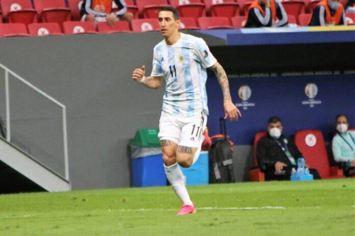 (Video) La estrella del PSG, Angel Di María, le da a Argentina la ventaja que tanto necesita en la final de la Copa América 2021 gracias a un gol de primera clase