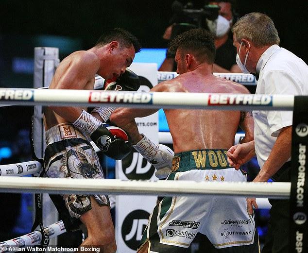 El luchador de Nottingham fue el perdedor contra Xu Can, pero fue una exhibición perfecta